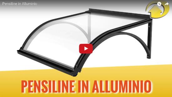 pensiline alluminio