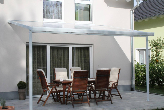 Pergola in policarbonato per veranda